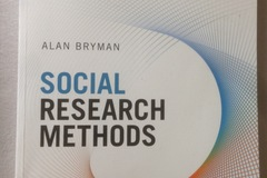 Books / literature: Social Research Methods wie neu!!