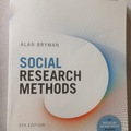 Bücher / Literatur: Social Research Methods wie neu!!