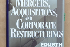 Bücher / Literatur: Mergers, Acquisitions and Corporate Restructurings