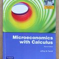 Bücher / Literatur: Microeconomics with Calculus