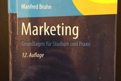 Bücher / Literatur: Marketing + Marketingübungen (Manfred Bruhn)