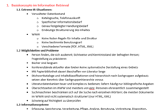 Summary / Formulary / Solutions: Angewandtes Information Retrieval Zusammenfassung