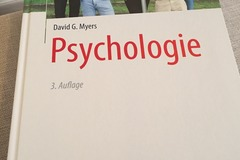 Bücher / Literatur: Psychologie David G. Myers 3. Auflage