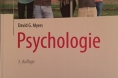 Books / literature: Psychologie (Myers)