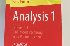 Bücher / Literatur: Analysis 1