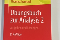 Books / literature: übungsbuch zur Analysis 2