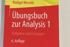 Books / literature: Übungsbuch zur Analysis 1