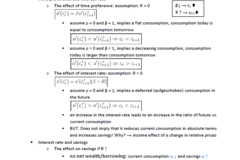 Summary / Formulary / Solutions: Zusammenfassung Macroeconomics and Finance (Teil Finance)