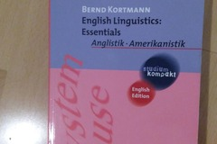Books / literature: English Linguistics: Essentials / Bernd Kortmann