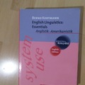 Livres / littérature : English Linguistics: Essentials / Bernd Kortmann