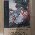 Livres / littérature : The Norton Anthology of American Literature A-E