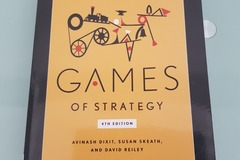 Livres / littérature : Games Of Strategy 4th Edition