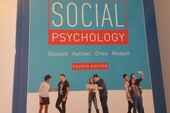 Books / literature: Social Psychology