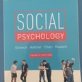 Bücher / Literatur: Social Psychology