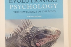 Books / literature: Evolutionary Psychology