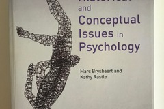 Livres / littérature : Historical and Conceptual Issues in Psychology