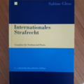 Books / literature: Internationales Strafrecht