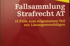 Books / literature: Fallsammlung Strafrecht AT