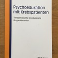 Books / literature: Psychoedukation mit Krebspatienten