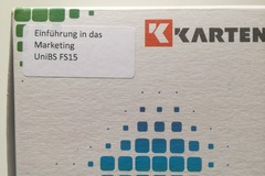 Flashcards: Einführung in das Marketing KKarten FS 15