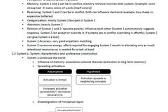 Summary / Formulary / Solutions: Zusammenfassung Skript Psychology of Decision Making