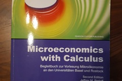 Livres / littérature : Microeconomics with Calculus