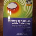 Libri / letteratura : Microeconomics with Calculus