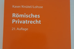 Books / literature: Römisches Privatrecht