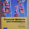 Livres / littérature : Financial Markets and Institutions