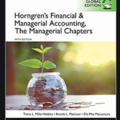 Bücher / Literatur: Horngren's Accounting, The Managerial Chapters