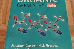 "Books / literature: ""Organic Chemistry"", by J. Clayden, N. Greeves & S.Warren"