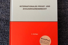 Books / literature: Internationales Privat- und Zivilverfahrensrecht