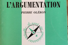 Books / literature: L'argumentation