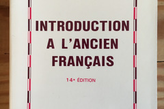 Libri / letteratura : Introduction à l'ancien français
