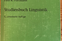 Books / literature: Studienbuch Linguistik